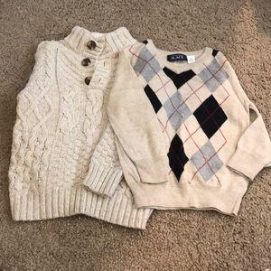 💙 Boys 2T Dressy, Chunky Sweater Bundle 💙